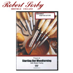 Robert Sorby DVD: Starting Out Woodturning