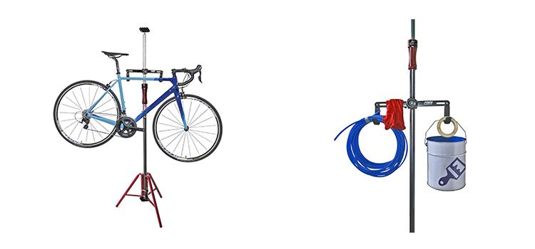 自転車や道具の保管に