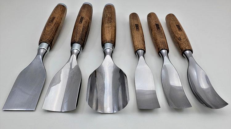 6種類のチゼル
